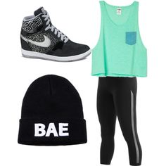 Untitled #6 by sims3-i on Polyvore featuring polyvore, fashion, style and NIKE