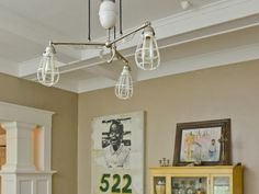 Clever ideas for repurposed light fixtures >> http://www.diynetwork.com/made-and-remade/fix-it/repurpose-a-light-fixture-for-cool-character?soc=pinterest