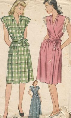 Housedress and housecoat pattern