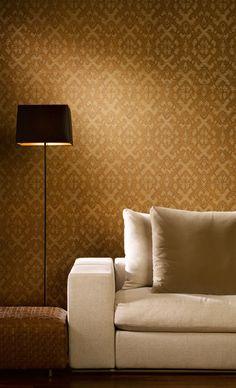 Binnenhuisinrichting | Behang | Woonkamer l Hooked on Walls behang te verkijgen @ Mira-Zele www.mira-zele.be