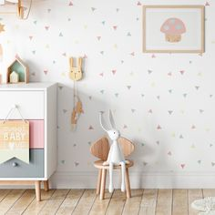 Baby Bedroom, Candy Colors, Baby Kids, Sweet Home, New Homes, Nursery, Interior Design, Inspiration, Furniture