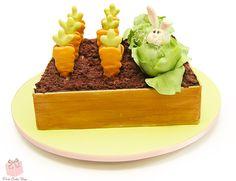 Easter Garden Cake   http://blog.pinkcakebox.com/easter-garden-cake-2015-04-06.htm