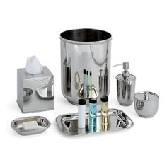 Regal Bead Bath Accessory Set | Overstock.com Shopping - The Best Deals on Bathroom Collections