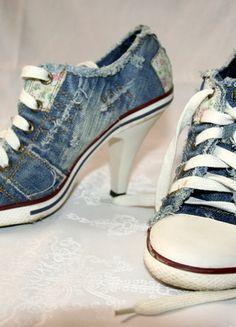 Kup mój przedmiot na #vintedpl http://www.vinted.pl/damskie-obuwie/na-wysokim-obcasie/11990611-trampki-na-obcasie-rozm-38