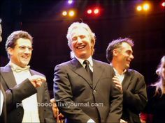"""Alan Rickman participated in """"Music from the Movies"""" a Charity Event for Leukaemia Research, on October 28, 2007 at the Royal Albert Hall, London, England."""