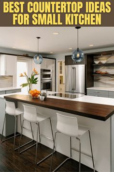 BEST COUNTERTOP IDEAS FOR SMALL KITCHEN