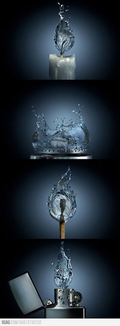 """""""If fire were water"""" ... umm, what would we put it out with??  http://9gag.com/gag/5742132"""
