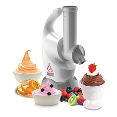 The Dessert Bullet turns simple frozen fruits into delicious frosty treats without the extra sugar, fat, chemicals, or calories of traditional frozen desserts - all in just 10 seconds or less. Frozen Fruit, Frozen Desserts, Frozen Treats, Healthy Desserts, Fresh Fruit, Magic Bullet Dessert Bullet, Dessert Bullet Recipes, Dessert Makers, See On Tv
