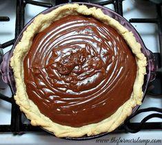 Ma Horton's Velvety Chocolate Pie