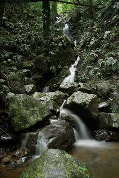 Waterfalls in Australian national park