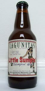 A Little Sumpin' Sumpin' Ale by Lagunitas Brewing Company. 7.50%. American Pale Wheat Ale. Bottled.