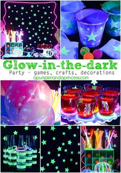 Glow-in-the-dark Party - A Pumpkin And A Princess