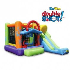 Kidwise Double Shot Bouncer Bounce House