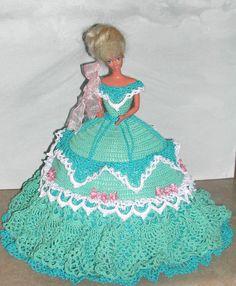 Crochet Fashion Doll Barbie Pattern 583 by JudysDollPatterns