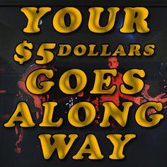 Five Dollar Sponsor Drive Rock Music, Rock
