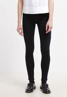 bestil  Levi's® LINE8 THE RINGER - Jeans Skinny Fit - lightly worn black til kr 359,00 (12-04-17). Køb hos Zalando og få gratis levering.