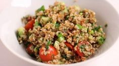 Tabouleh Salad Recipe - Laura in the Kitchen - Internet Cooking Show Starring Laura Vitale