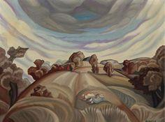 Lovers in the field - Serge Sudeikin
