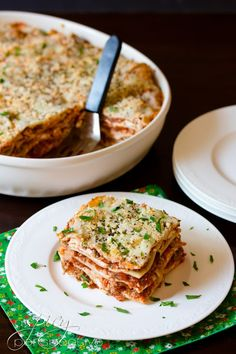 Homemade Cream Cheese Lasagna