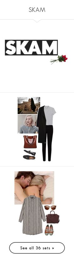 """""""SKAM"""" by asmin ❤ liked on Polyvore featuring art, EAST, Monki, River Island, Spain, noora, skam, Givenchy, Converse and noorhelm"""