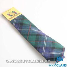 Clan Urquhart Tartan Tie