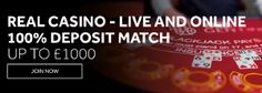 GENTING CASINO - LIVE AND ONLINE 100% DEPOSIT MATCH !! - UK Casino List