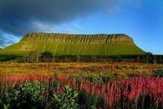 Ben Bulben, County Sligo, Ireland.  It is the home of my ancestors, it is the home of my heart.