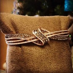 Wrap it up…in chocolate!  Chocolate Diamonds® Gladiator Loops™ Bangle  #LeVian #OneDayEvent #ChocolateDiamonds