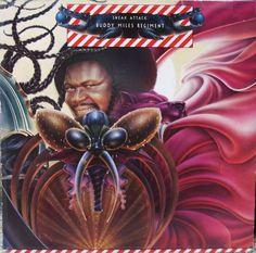 Buddy Miles Signed Lp Album Cover Regiment Sneak Attack Psa/Dna Auto D. By: Attack. Buddy Miles, Sneak Attack, Best Albums, Jazz Blues, Vintage Records, Blues Rock, Cover Pics, Pop Rocks, Lp Vinyl