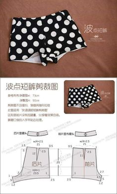 Best 10 Easy Sewing Slipper for Home. Tutorial with a pattern – Page 674906694140416862 – SkillOfKing. Swimsuit Pattern, Bra Pattern, Pants Pattern, Sewing Shorts, Sewing Clothes, Dress Sewing Patterns, Clothing Patterns, Fashion Sewing, Diy Fashion