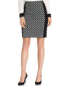 Macys skirt Anne Klein Skirt Mixed Media Pencil