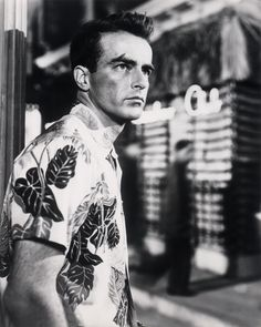 Montgomery Clift in From Here to Eternity directed by Fred Zinnemann, 1953