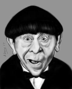 Moe Howard by adavis57
