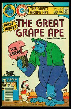 Charlton Comics, Hanna Barbera, Comic Covers, Magazines, Journals