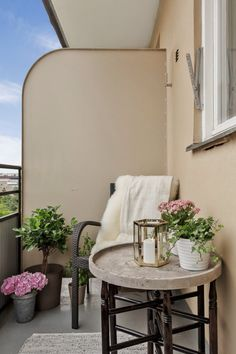 Tiny and charming terrace