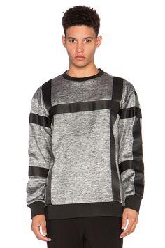 AQ/AQ Asger Sweatshirt in Steel