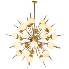 Important Murano Glass Sputnik Chandelier