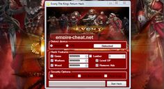 Evony The Kings Return Hack Cheat Download