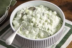 Create a cool and creamy classic with our Watergate salad! Learn how to make Watergate salad the proper way with our short video of quick tips.