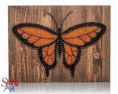 Butterfly String Art Kit Adult Crafts Kit DIY String Art