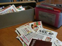 I teach a clip, sort, giveaway system of couponing. It works incredibly well for my local readers who live along the Ohio/Michigan state line where coupon distributions and supermarket specials overlap in strange ways ... and it will also work no matter what city my national readers live in.