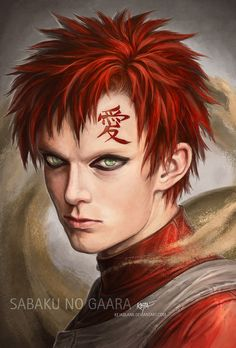 Gaara is one of the characters, I also love very much! He has something unique, his character is a very evil one in the beginning, but he changed a lot during the story and even became one of the b...