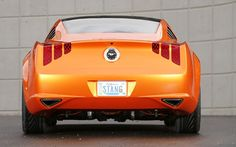 Giugiaro Ford Mustang. Nice looking back end.