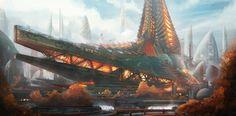 Hathor Industries headquarters by Tryingtofly on DeviantArt
