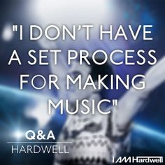 """It's Christmas Day! Time for a special #Christmas present from your own DJ Hardwell! Thank you for sharing your questions, this is the one we picked!  Q > Ershad Herawi: """"What is the first thing you start with when you make a new track?""""  &  A > #HARDWELL"""