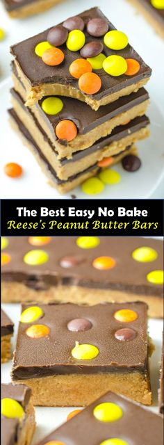 Baking Easy Desserts Simple Peanut Butter 21 Ideas For 2019 Easy No Bake Desserts, Easy Cookie Recipes, Fun Desserts, Dessert Recipes, Cake Recipes, Healthy Desserts, Sweets Recipe, Easy Sweets, Baking Desserts