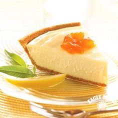Need a simply citrusy dessert? Try our Creamy Lemon Pie from Eagle Brand®.