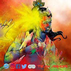 Happy Holi Images Hd, India, Rock, Painting, Art, Art Background, Goa India, Skirt, Painting Art