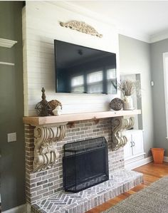 38 top fireplace treatments images in 2019 fire places fireplace rh pinterest com