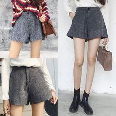 Buy Moon City Wide-leg Knit Shorts at YesStyle.com! Quality products at remarkable prices. FREE WORLDWIDE SHIPPING on orders over US$35.